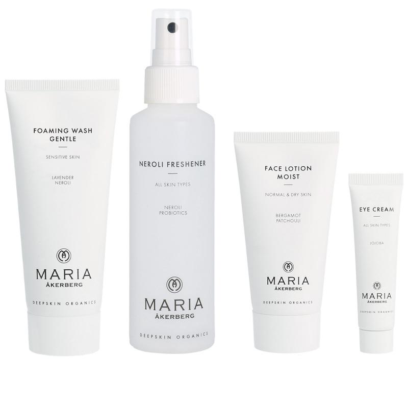 Maria Åkerberg Beauty Starter Set Moist ryhmässä Ihonhoito / Lahjat & ihonhoitosetit / Aloituspakkaukset  at Bangerhead.fi (B037278)