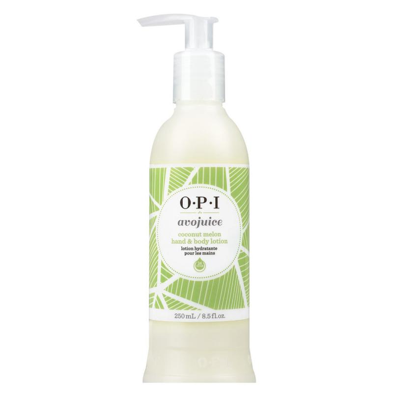 OPI Avojuice Skin Quenchers Coconut & Melon (240ml) ryhmässä Vartalonhoito & spa / Kädet & jalat / Käsivoiteet at Bangerhead.fi (B037320)
