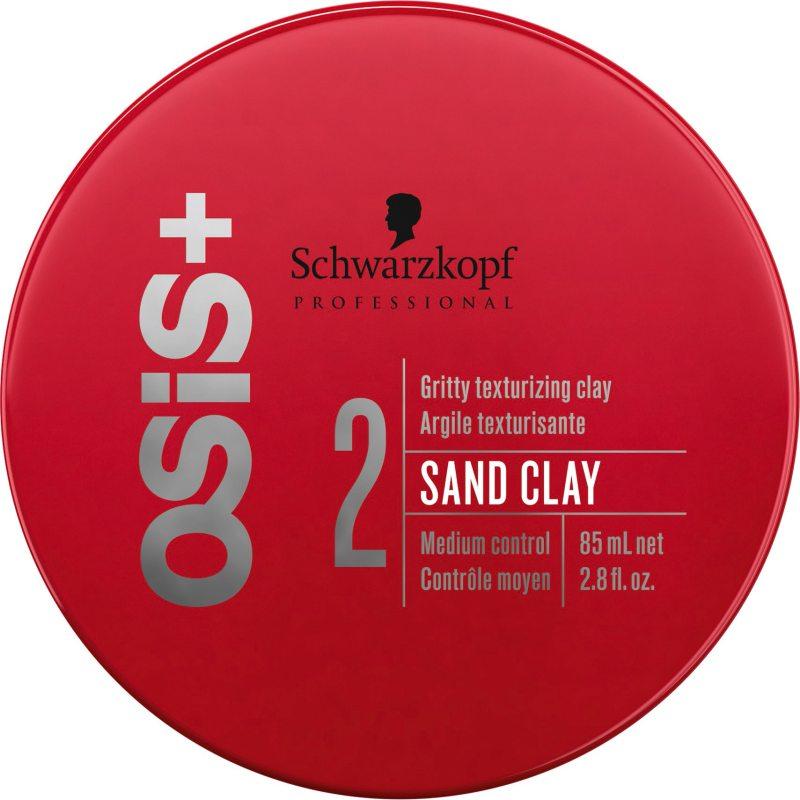 Schwarzkopf Professional OSiS Sand Clay (85ml) ryhmässä Hiustenhoito / Muotoilutuotteet / Hiusvahat & muotoiluvoiteet at Bangerhead.fi (B037971)