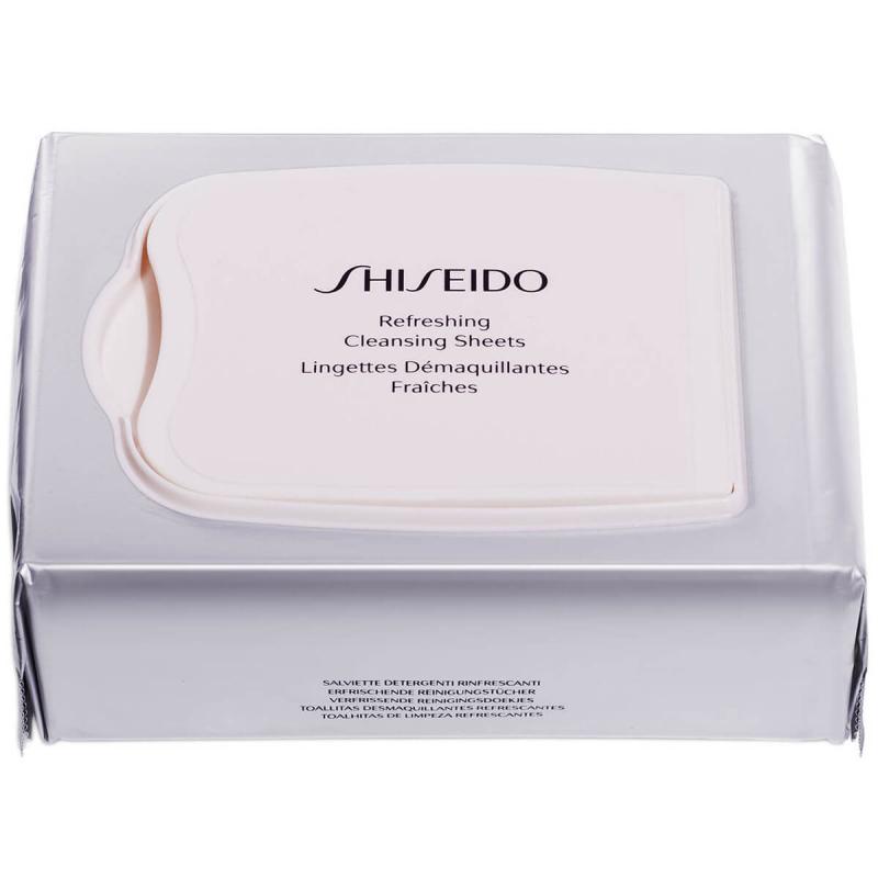 Shiseido Generic Skincare Refreshing Cleansing Sheets Pk30 143 ml i gruppen Hudvård / Ansiktsrengöring / Rengöringsservetter hos Bangerhead (B038048)