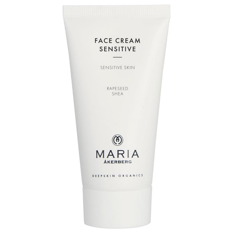 Maria Åkerberg Face Cream Sensitive (50ml) ryhmässä Ihonhoito / Kasvojen kosteutus / Yövoiteet at Bangerhead.fi (B038147)