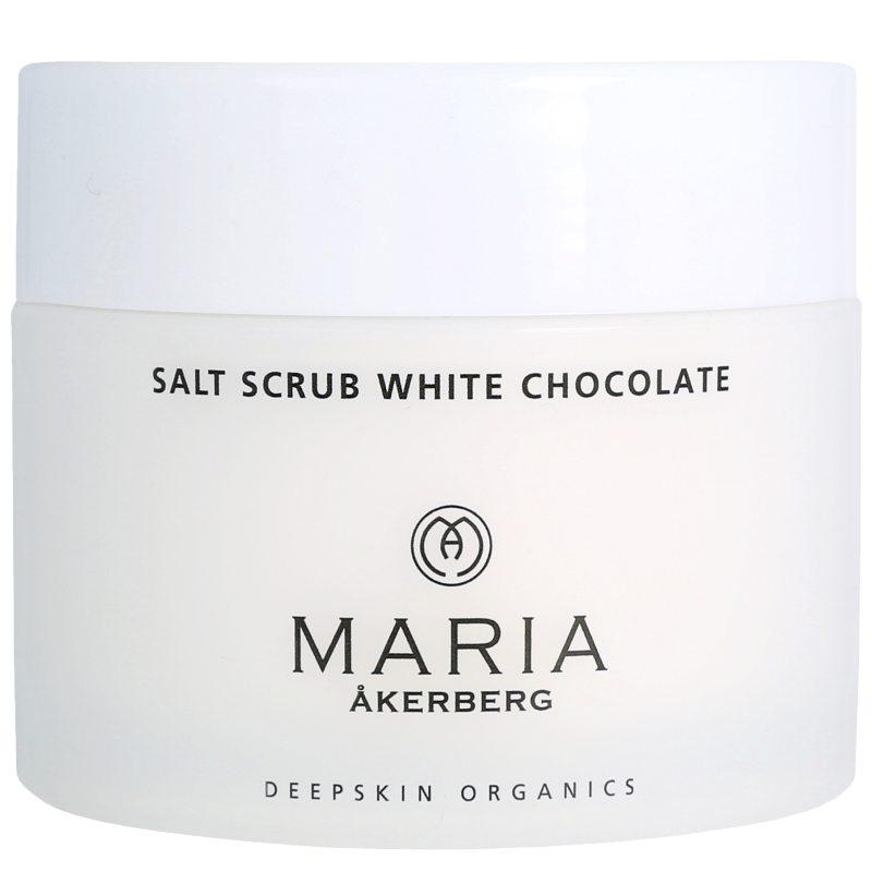 Maria Åkerberg Salt Scrub White Chocolate (200ml) i gruppen Kroppsvård & spa / Kroppsrengöring / Body scrub & peeling hos Bangerhead (B038164)