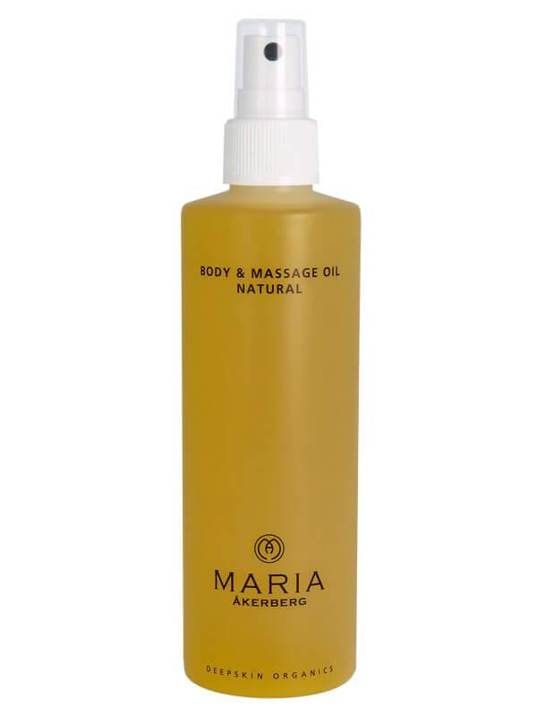 Maria Åkerberg Body & Massage Oil Natural (250ml) ryhmässä Vartalonhoito & spa / Vartalon kosteutus / Vartaloöljy at Bangerhead.fi (B038226)