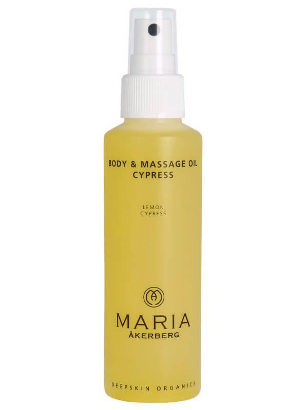 Maria Åkerberg Body & Massage Oil Cypress ryhmässä Vartalonhoito & spa / Vartalon kosteutus / Vartaloöljy at Bangerhead.fi (B038229r)