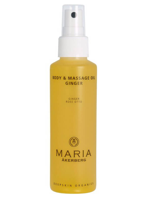 Maria Åkerberg Body & Massage Oil Ginger (125ml) i gruppen Kroppsvård & spa / Kroppsåterfuktning / Kroppsolja hos Bangerhead (B038235)
