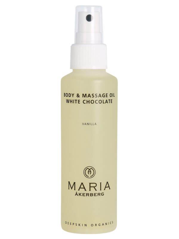 Maria Åkerberg Body & Massage Oil White Chocolate (125ml) ryhmässä Vartalonhoito & spa / Vartalon kosteutus / Vartaloöljy at Bangerhead.fi (B038236)