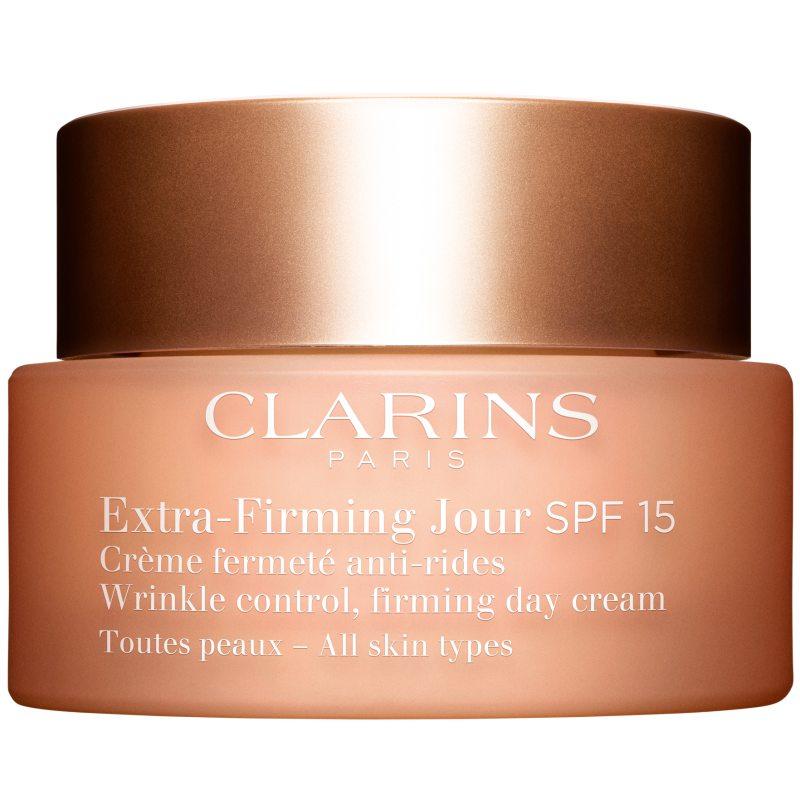 Clarins Extra-Firming Jour SPF 15 All Skin Types (50ml) i gruppen Hudvård / Ansiktskräm / Dagkräm hos Bangerhead (B038466)