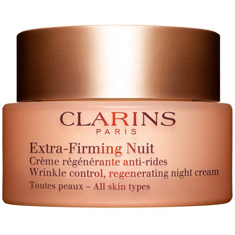 Clarins Extra-Firming Nuit All Skin Types (50ml) ryhmässä Ihonhoito / Kosteusvoiteet / Yövoiteet at Bangerhead.fi (B038467)
