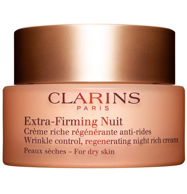 Clarins Extra-Firming Nuit For Dry Skin (50ml) ryhmässä Ihonhoito / Kosteusvoiteet / Yövoiteet at Bangerhead.fi (B038468)