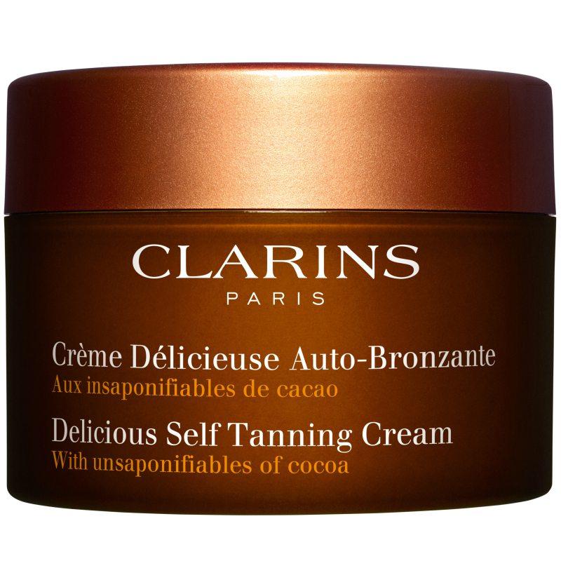 Clarins Delicious Self Tanning Cream (150ml) ryhmässä Vartalonhoito  / Aurinkotuotteet vartalolle / Itseruskettavat vartalolle at Bangerhead.fi (B038472)