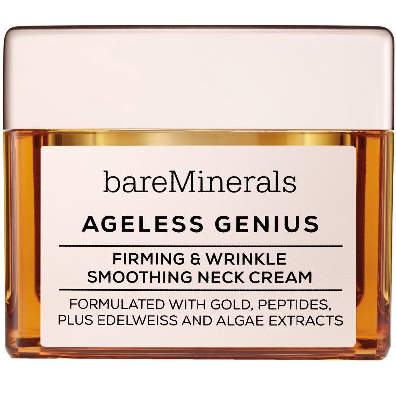 bareMinerals Ageless Genius Firming & Wrinkle Smoothing Neck Cream (50g) ryhmässä Ihonhoito / Kasvojen kosteutus / Kaula ja dekoltee at Bangerhead.fi (B038577)