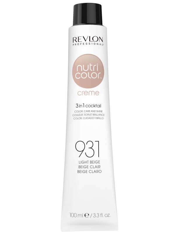 Revlon Professional Nutri Color Creme 931 Light Beige (100ml) ryhmässä Hiustenhoito / Hiusnaamiot ja hoitotuotteet / Naamiot at Bangerhead.fi (B038655)
