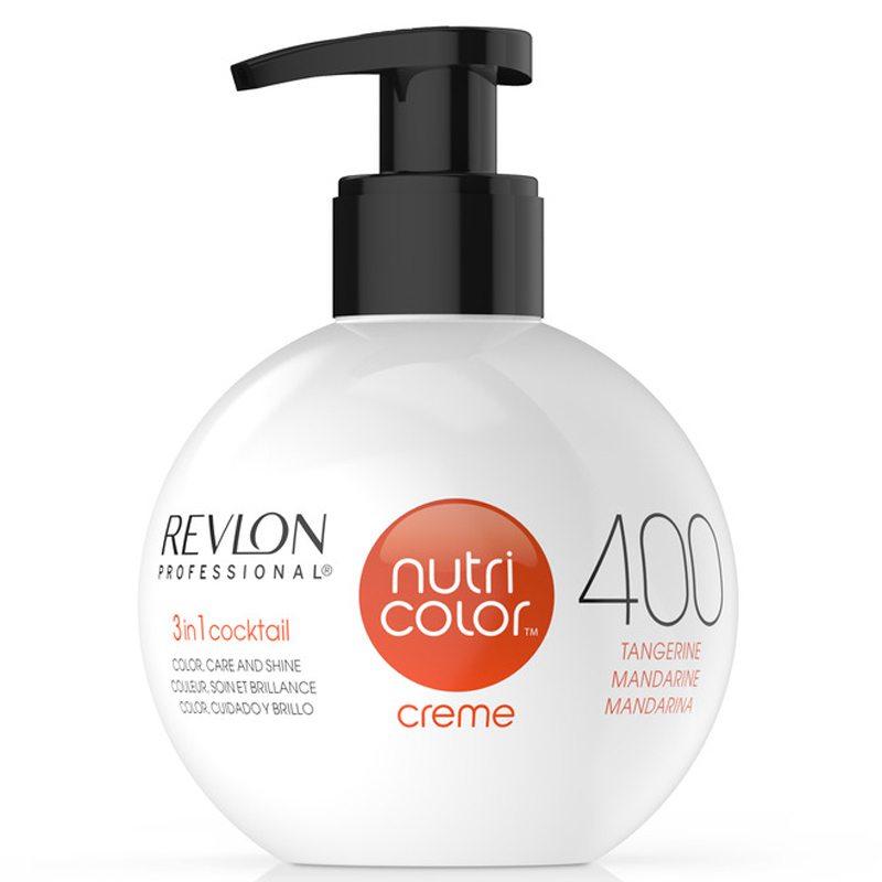 Revlon Professional Nutri Color Creme 400 Tangerine (270ml) ryhmässä Hiustenhoito / Hiusnaamiot ja hoitotuotteet / Naamiot at Bangerhead.fi (B038660)