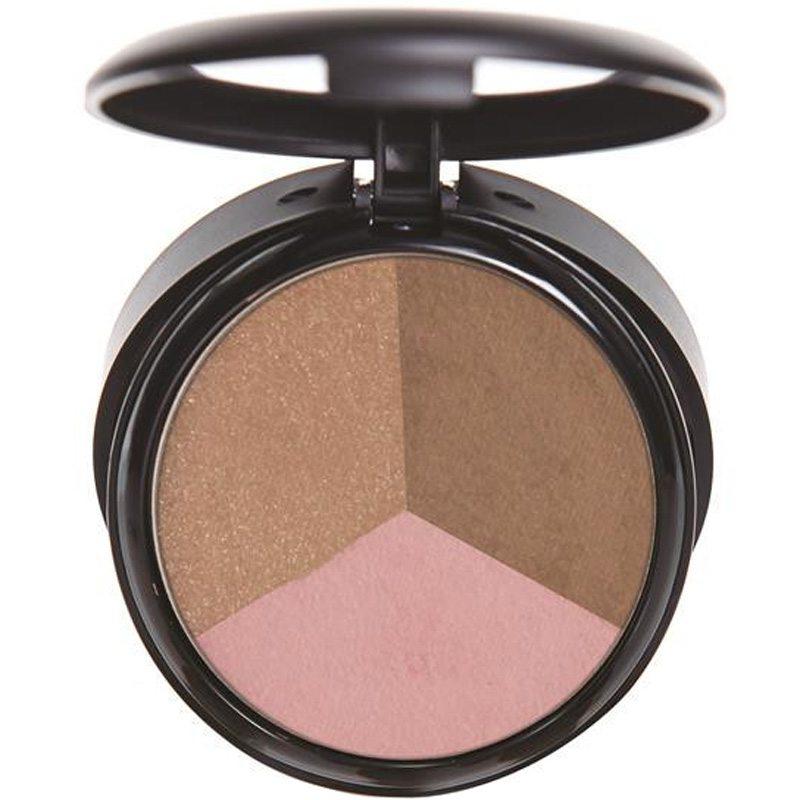 Ofra Cosmetics Pressed Powder Trio - California Dream Triangle i gruppen Makeup / Kinder / Bronzer hos Bangerhead (B038825)