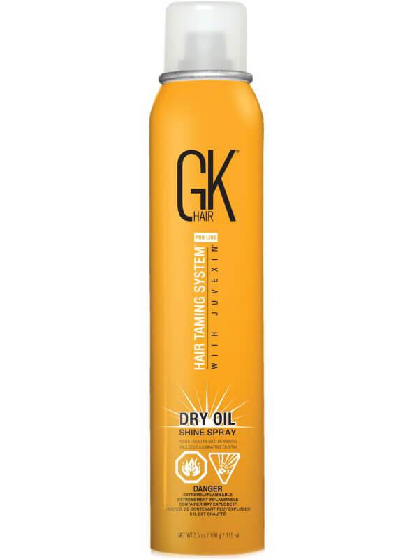 GK Hair Dry Oil Spray (100ml) ryhmässä Hiustenhoito / Muotoilutuotteet / Hiusöljyt at Bangerhead.fi (B038872)