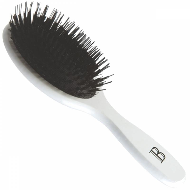 Balmain Hair Extension Brush White ryhmässä Hiustenhoito / Hiusharjat & tarvikkeet / Hiusharjat at Bangerhead.fi (B038885)