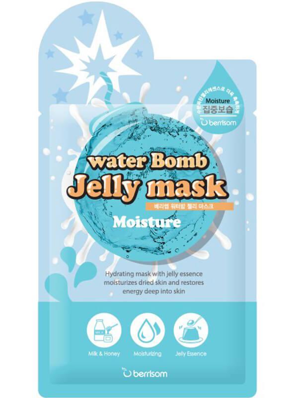 Berrisom Water Bomb Jelly Mask Moisture (33ml) i gruppen Hudpleie / Ansiktsmaske / Sheet masks hos Bangerhead.no (B038963)