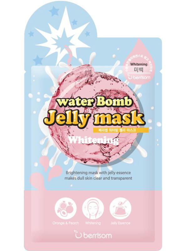 Berrisom Water Bomb Jelly Mask - Whitening (33ml) ryhmässä Ihonhoito / Kasvonaamiot / Kangasnaamiot at Bangerhead.fi (B038965)