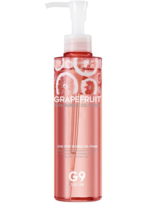 G9Skin Grapefruit Vita Bubble Oil Foam i gruppen Hudpleie / Ansiktsrens / Rengjøringsskum hos Bangerhead.no (B038998)
