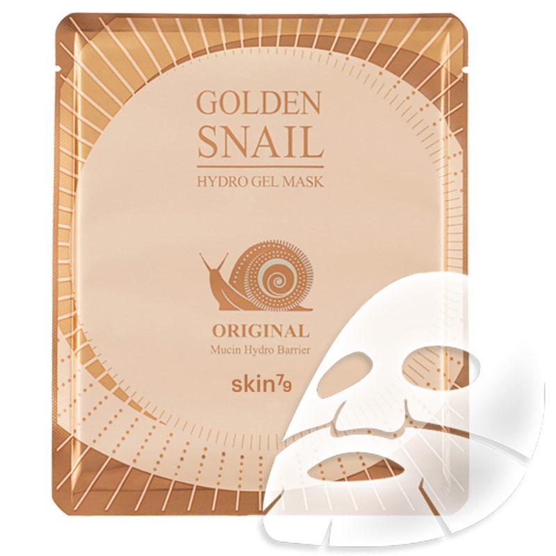 Skin79 Golden Snail Gel Mask ryhmässä Ihonhoito / Kasvonaamiot / Kangasnaamiot at Bangerhead.fi (B039014r)
