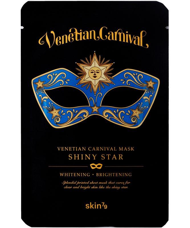 Skin79 Venetian Carnival Mask Shiny Star i gruppen Hudpleie / Ansiktsmaske / Sheet masks hos Bangerhead.no (B039027)