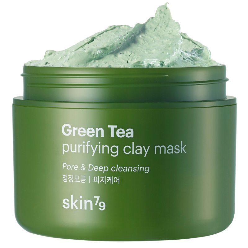 Skin79 Green Tea Clay Mask i gruppen Hudpleie / Ansiktsmaske / Leirmaske hos Bangerhead.no (B039032)