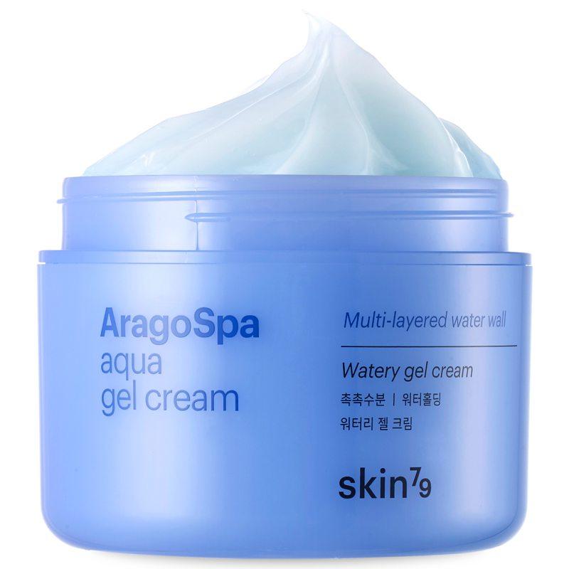 Skin79 Aragospa Aqua Gel Cream (90ml) ryhmässä Ihonhoito / Kasvojen kosteutus / Päivävoiteet at Bangerhead.fi (B039037)