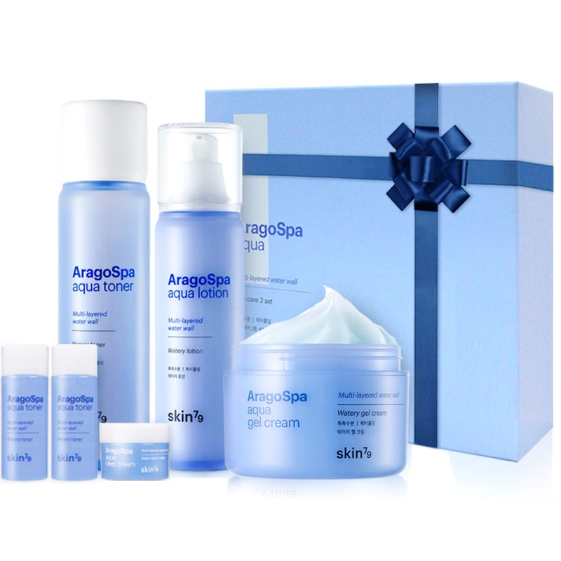 Skin79 Aragospa Aqua Skincare 3 Set i gruppen Hudvård / Gift set & kits / Start kits hos Bangerhead (B039040)