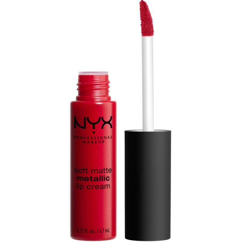 NYX Professional Makeup Soft Matte Metallic Lip Cream ryhmässä Meikit / Huulet / Huulipunat at Bangerhead.fi (B039282r)