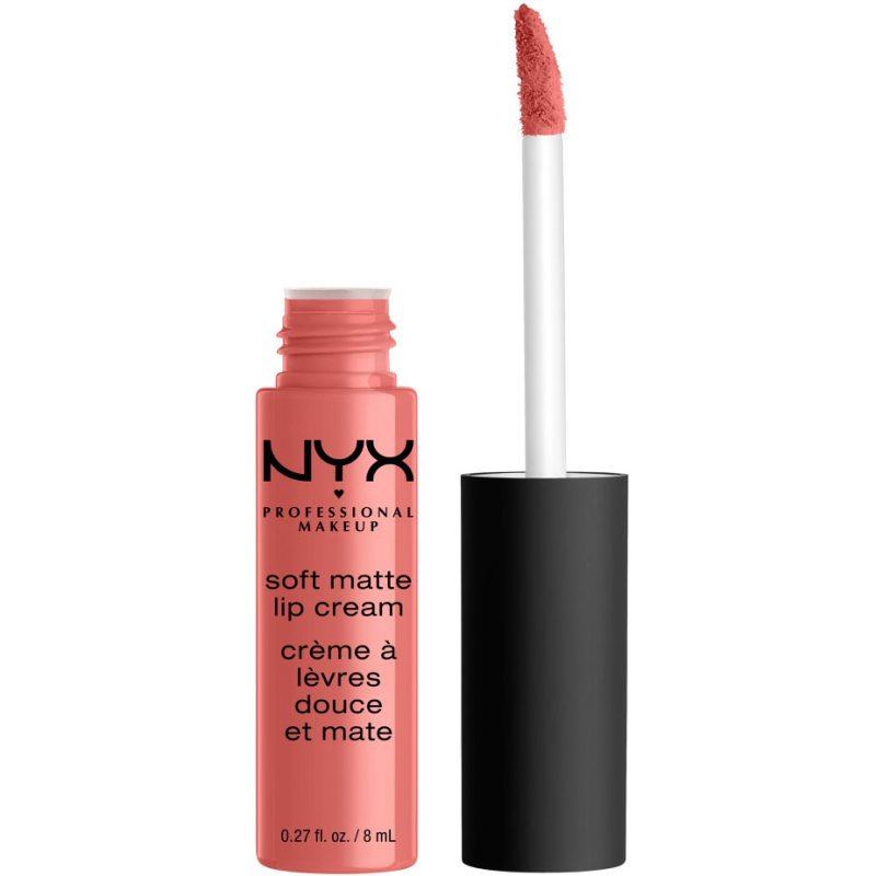 NYX Professional Makeup Soft Matte Lip Cream ryhmässä Meikit / Huulet / Huulipunat at Bangerhead.fi (B019101r)