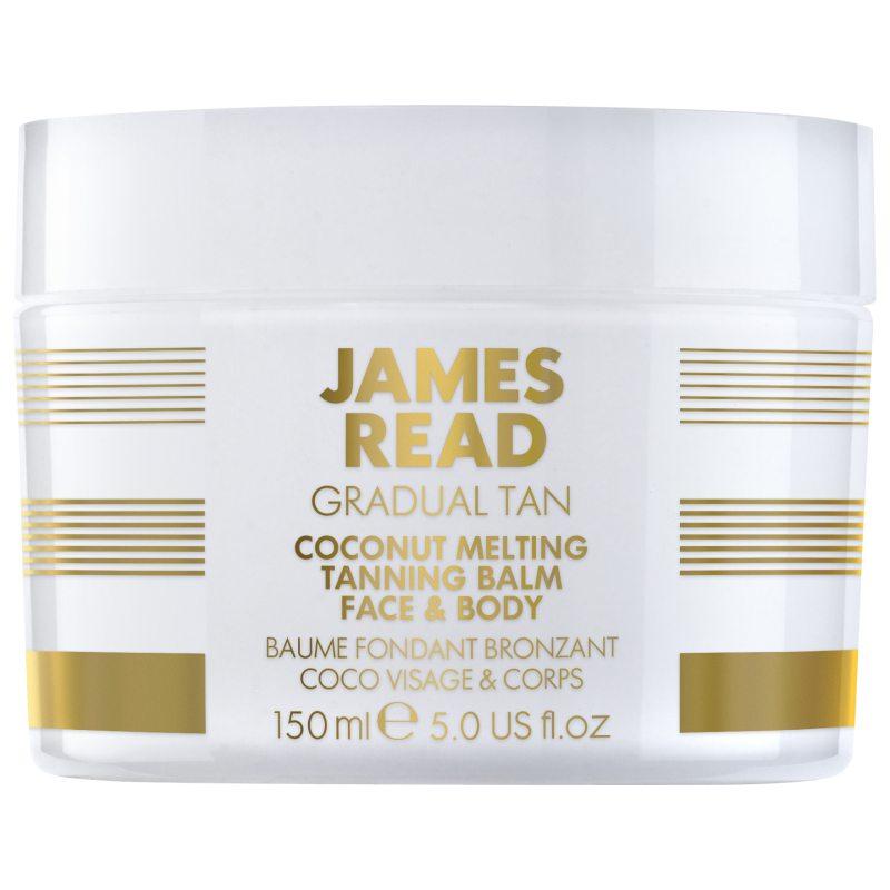 James Read Coconut Melting Tanning Balm (150ml) ryhmässä Vartalonhoito & spa / Aurinkotuotteet vartalolle / Itseruskettavat vartalolle at Bangerhead.fi (B039494)