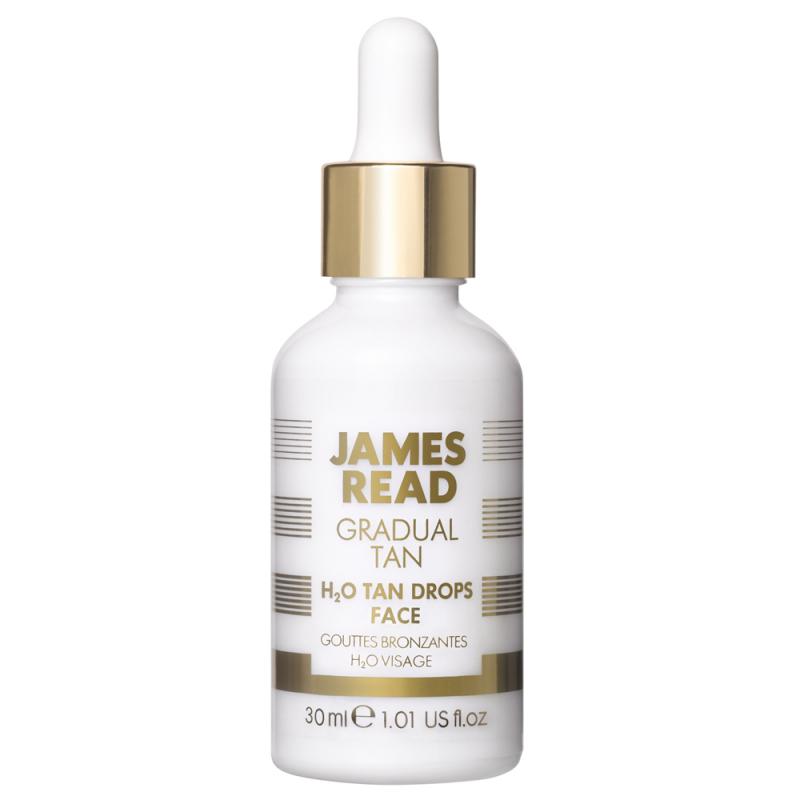 James Read H2O Tan Drops Face (30ml) i gruppen Hudvård / Sol & tan för ansikte / Brun utan sol för ansikte hos Bangerhead (B039496)