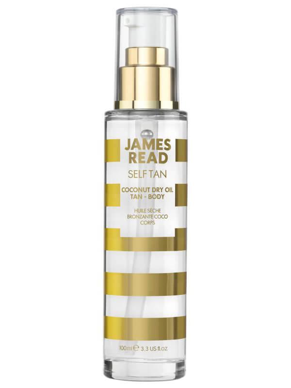 James Read Coconut Dry Oil Tan Body (100ml) ryhmässä Vartalonhoito & spa / Aurinkotuotteet vartalolle / Itseruskettavat vartalolle at Bangerhead.fi (B039497)