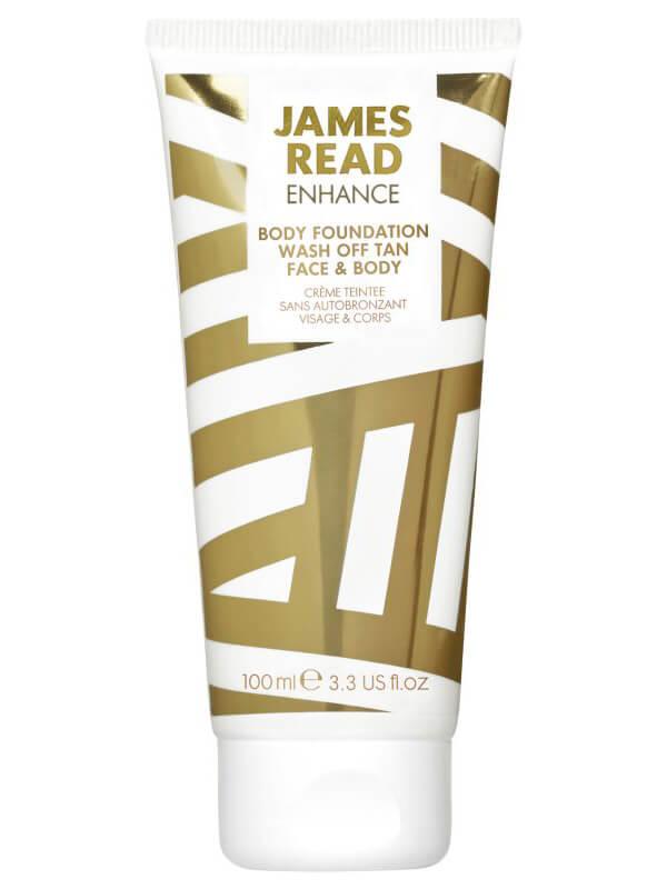 James Read Body Foundation Wash Off Tan Face & Body (100ml) ryhmässä Vartalonhoito  / Aurinkotuotteet vartalolle / Itseruskettavat vartalolle at Bangerhead.fi (B039498)