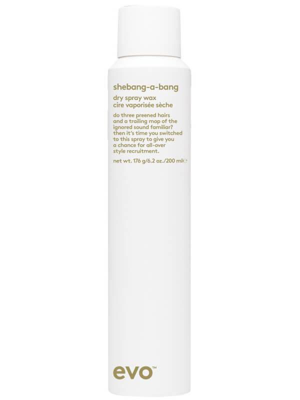 Evo Shebangabang Dry Spray Wax ryhmässä Hiustenhoito / Muotoilutuotteet / Viimeistelytuotteet at Bangerhead.fi (B050462r)