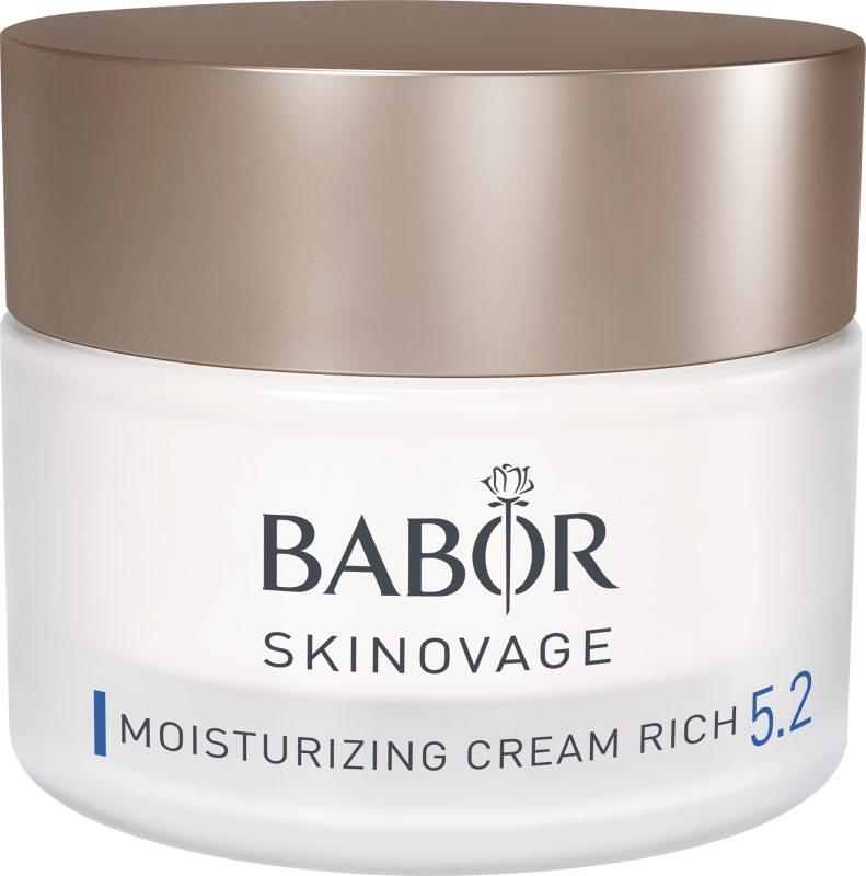 Babor Skinovage Moisturizing Cream Rich (50ml) ryhmässä Ihonhoito / Kasvojen kosteutus / Päivävoiteet at Bangerhead.fi (B039670)