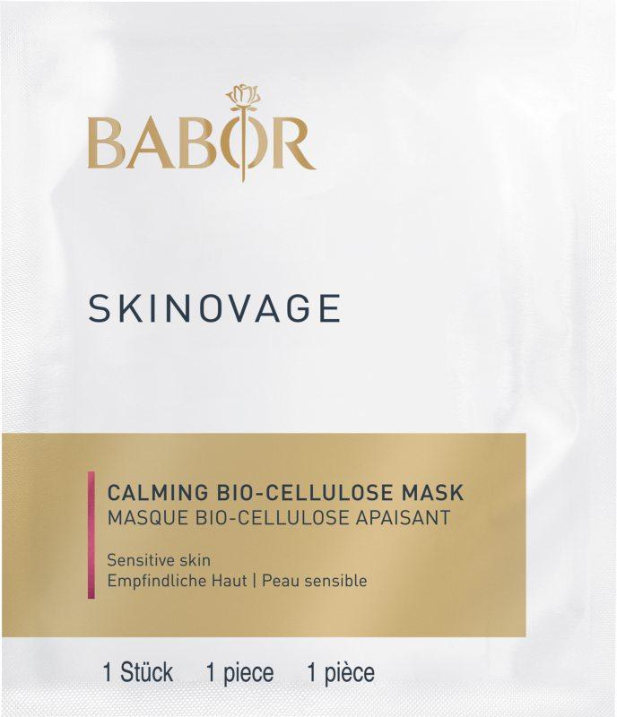 Babor Skinovage Calming Bio-Cellulose Mask (5pcs) ryhmässä Ihonhoito / Kasvonaamiot / Kangasnaamiot at Bangerhead.fi (B039678)