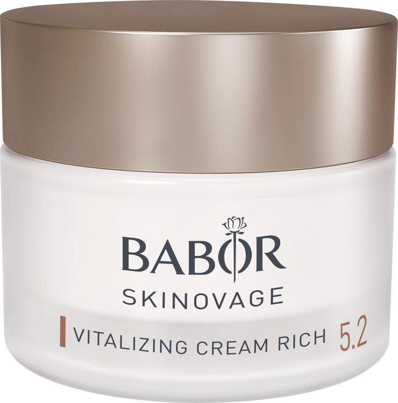 Babor Skinovage Vitalizing Cream Rich (50ml) ryhmässä Ihonhoito / Kasvojen kosteutus / Päivävoiteet at Bangerhead.fi (B039687)