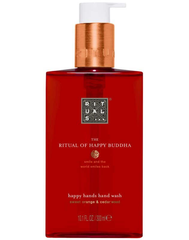 Rituals The Ritual Of Happy Buddha Hand Wash (300ml) i gruppen Kroppspleie & spa / Hender & føtter / Håndsåpe hos Bangerhead.no (B040028)