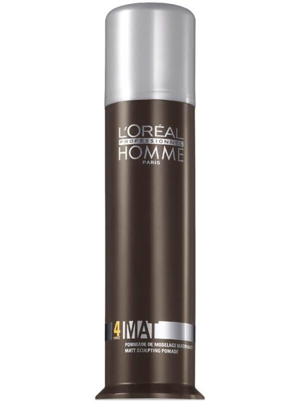 L'Oréal Professionnel Homme Mat (80ml) ryhmässä Hiustenhoito / Muotoilutuotteet / Hiusvahat & muotoiluvoiteet at Bangerhead.fi (B040066)