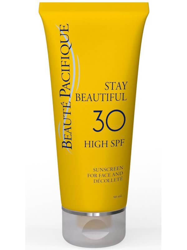 Beauté Pacifique Stay Beautiful SPF30 Face (50ml) ryhmässä Ihonhoito / Aurinkotuotteet kasvoille / Aurinkosuojat kasvoille at Bangerhead.fi (B040140)
