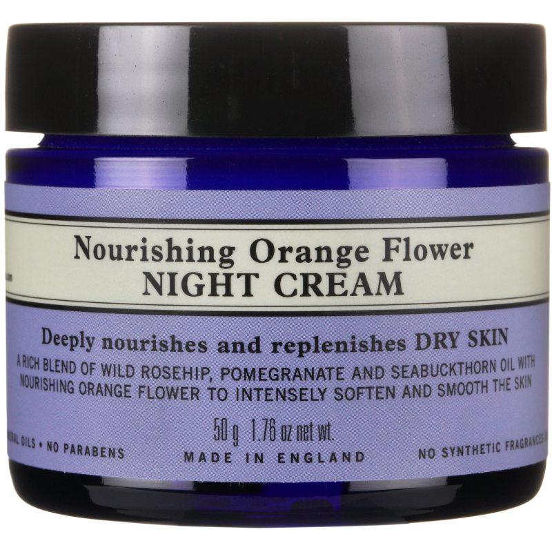 Neals Yard Remedies Nourishing Orange Flower Night Cream (100ml) ryhmässä Ihonhoito / Kasvojen kosteutus / Yövoiteet at Bangerhead.fi (B040209)