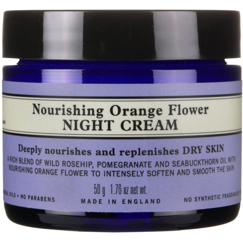 Neal's Yard Remedies Nourishing Orange Flower Night Cream (100ml) ryhmässä Ihonhoito / Kosteusvoiteet / Yövoiteet at Bangerhead.fi (B040209)
