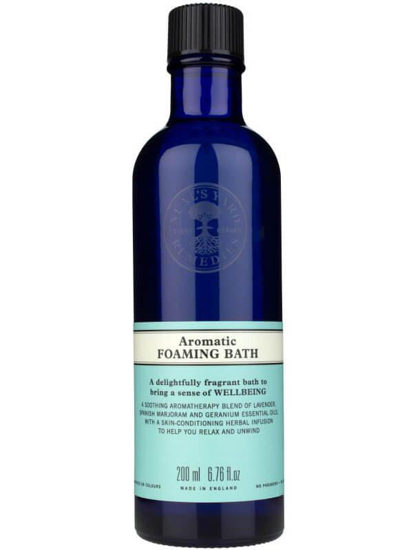 Neal's Yard Remedies Aromatic Foaming Bath (200ml) ryhmässä Vartalonhoito  / Vartalonpuhdistus & -kuorinta / Kylpysuolat at Bangerhead.fi (B040250)
