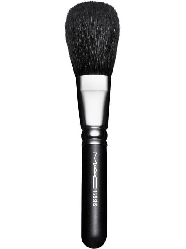MAC Cosmetics Brushes 129 Sh Powder/Blush i gruppen Makeup / Børster & verktøy / Børster for ansiktsmakeup hos Bangerhead.no (B041313)