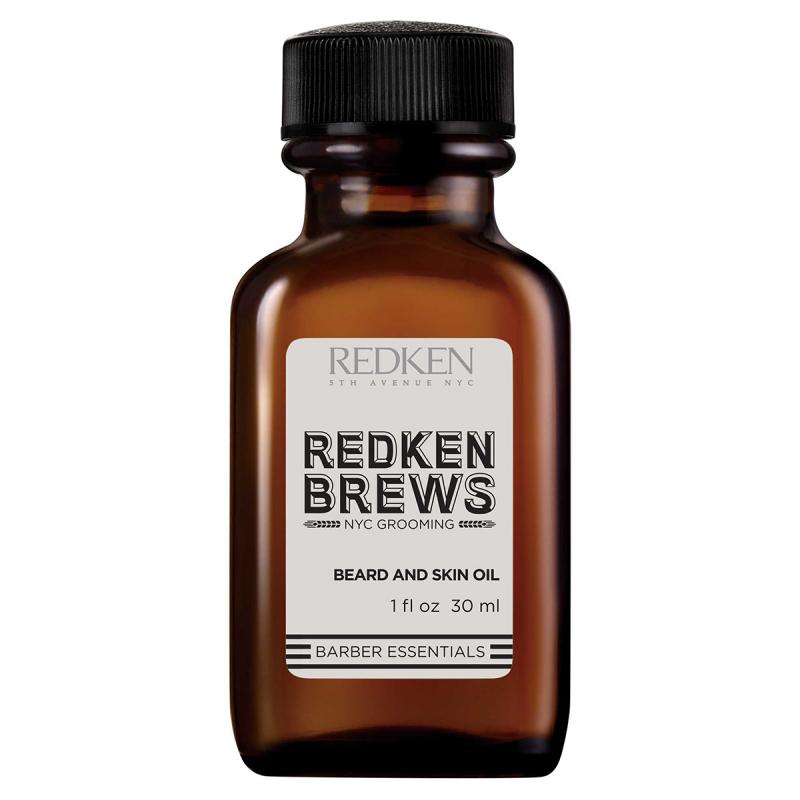 Redken Brews Beard And Skin Oil (30ml) i gruppen Man / Rakning & grooming för män / Groomingolja & vax hos Bangerhead (B042453)
