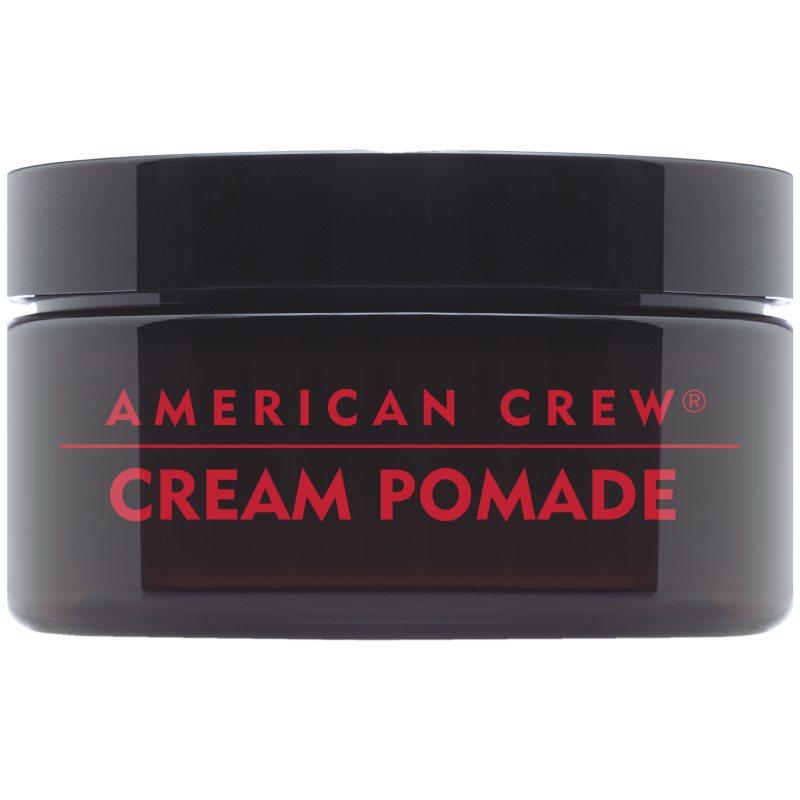 American Crew Cream Pomade (85g) ryhmässä Hiustenhoito / Muotoilutuotteet / Hiusvahat & muotoiluvoiteet at Bangerhead.fi (B042488)