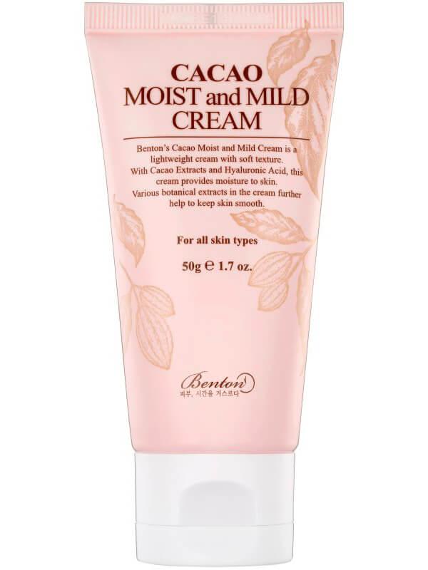 Benton Cacao Moist And Mild Cream (50ml) ryhmässä Ihonhoito / Kasvojen kosteutus / Päivävoiteet at Bangerhead.fi (B042517)