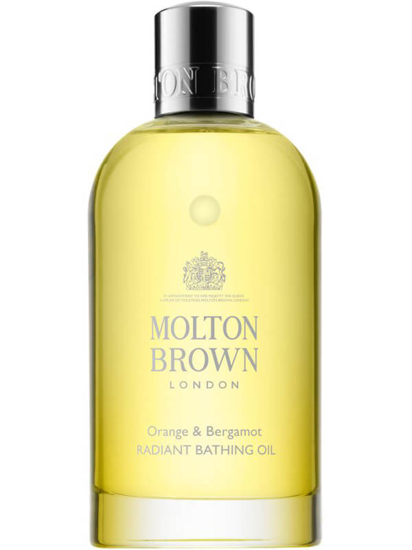 Molton Brown Orange & Bergamot Bathing Oil (200ml) i gruppen Kroppspleie  / Kroppsrengjøring og skrubb / Bad & dusjolje hos Bangerhead.no (B042707)