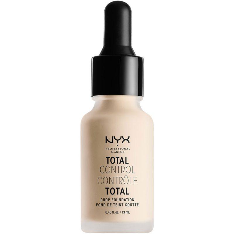 NYX Professional Makeup Total Control Drop Foundation ryhmässä Meikit / Pohjameikki / Meikkivoiteet at Bangerhead.fi (B037023r)